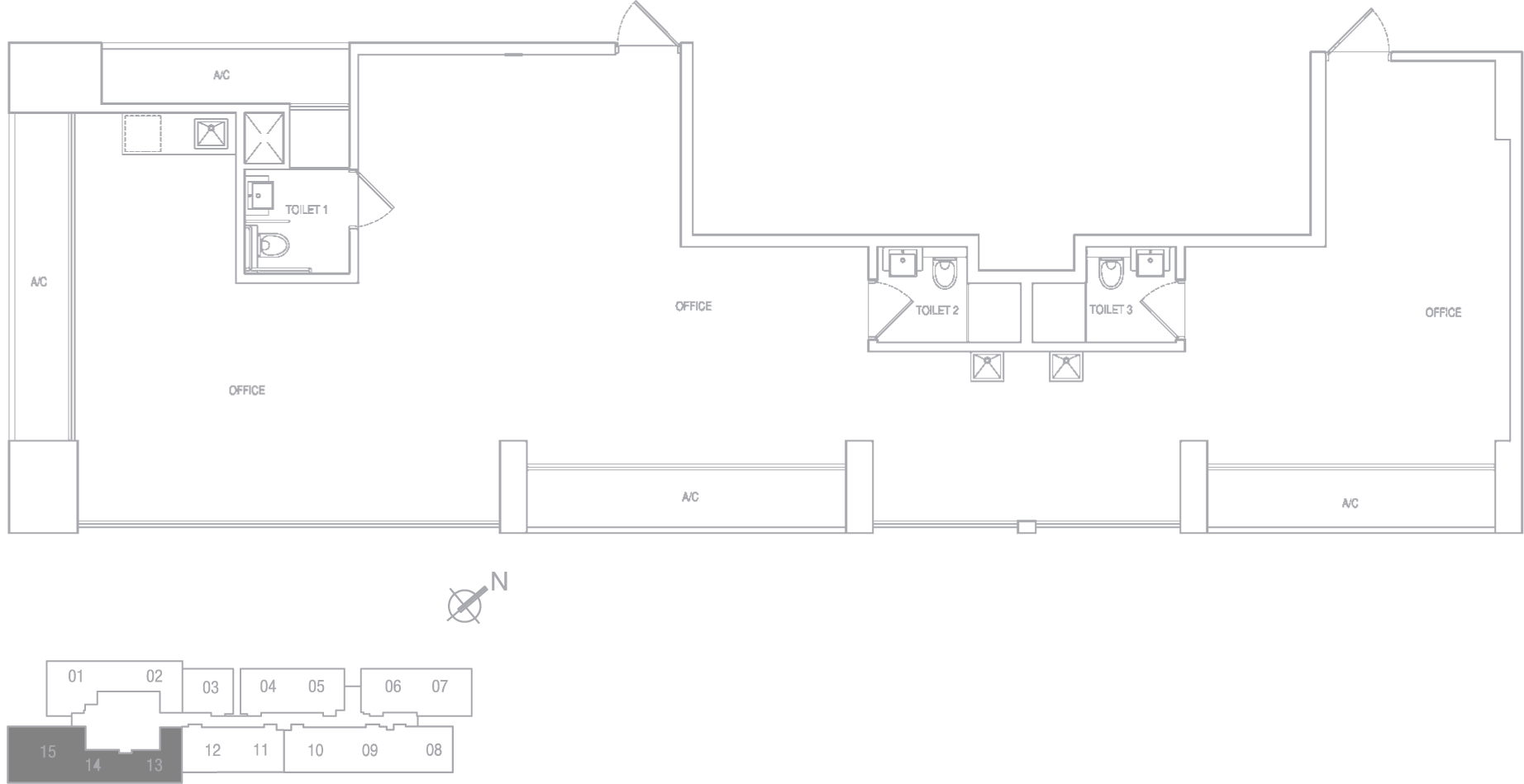 Type G Shop Floor Plan