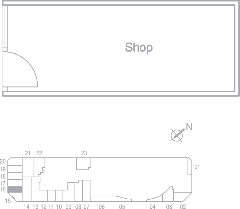 Type S16 Shop Floor Plan