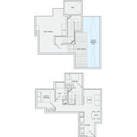 2 Bedroom Type PH11 Penthouse Floor Plan