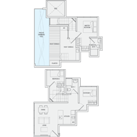 3 Bedroom Type PH2 Penthouse Floor Plan